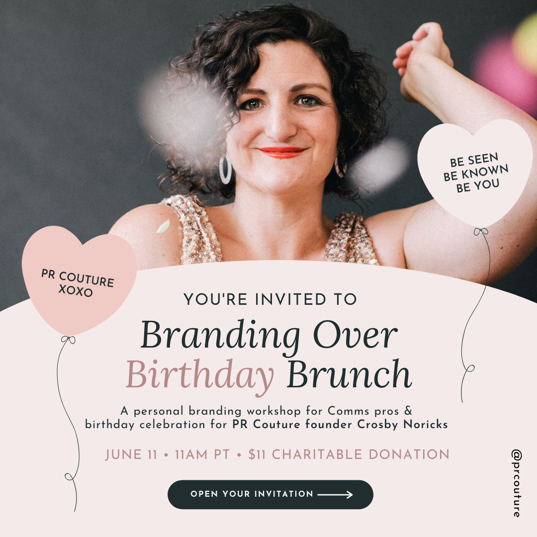 Branding Over Birthday Brunch Invitation post